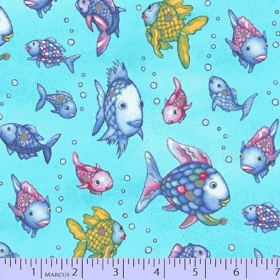 Rainbow Fish 9750-0720 metallic