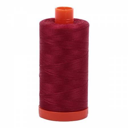 Aurifil Mako 50 Cotton 1103 Burgandy