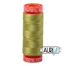 Aurifil Mako 50 Cotton 1147 Lt Leaf Green Small Spool