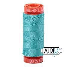 Aurifil Mako 50 Cotton 1148 Lt Jade Small Spool