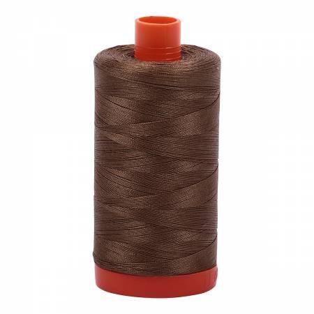 Aurifil Mako 50 Cotton 1318 Dark Sandstone
