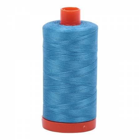 Aurifil Mako 50 Cotton 1320 Bright Teal