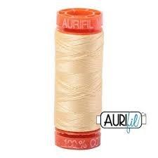 Aurifil Mako 50 Cotton 2105 Champagne Small Spool