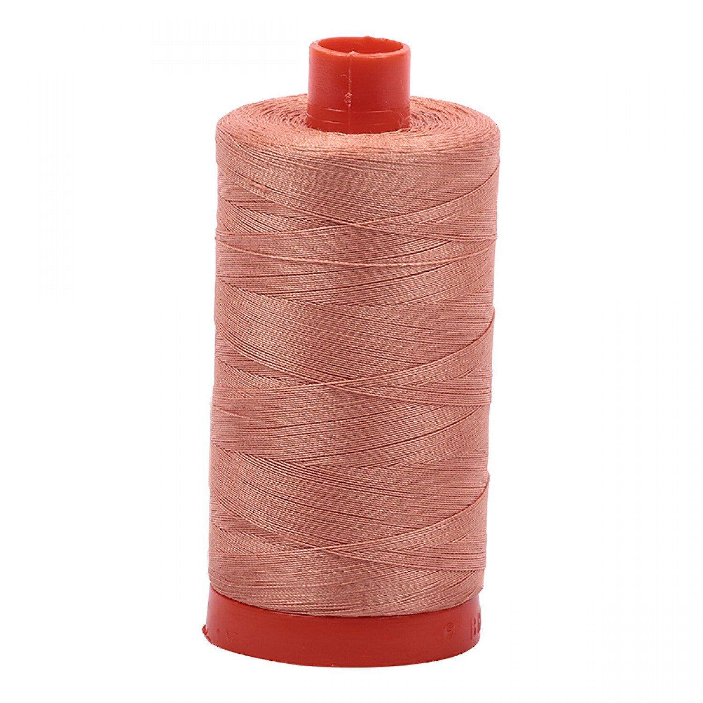 Aurifil Mako 50 Cotton 2215 Peach