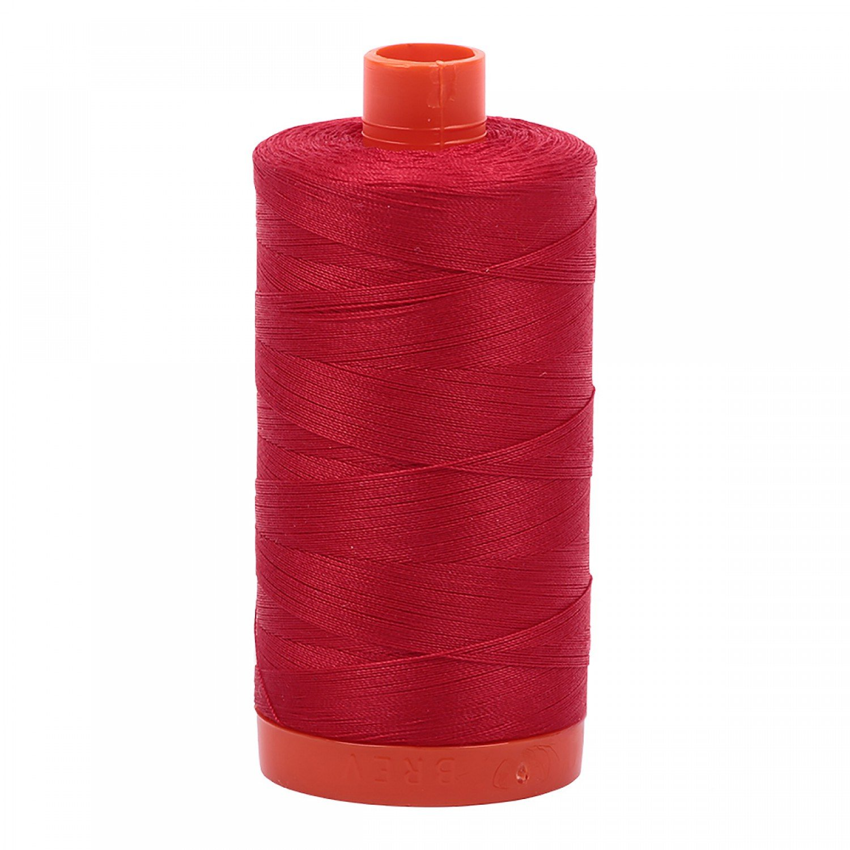 Aurifil Mako 50 Cotton 2250 red