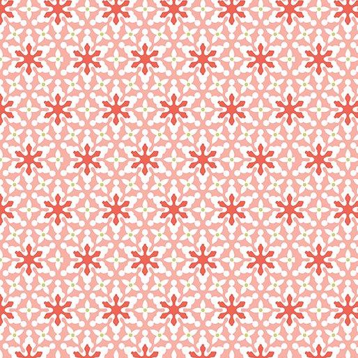 Small Snowflakes Pink