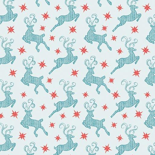 Small Reindeer Light Blue