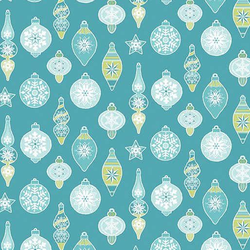 Ornaments Teal