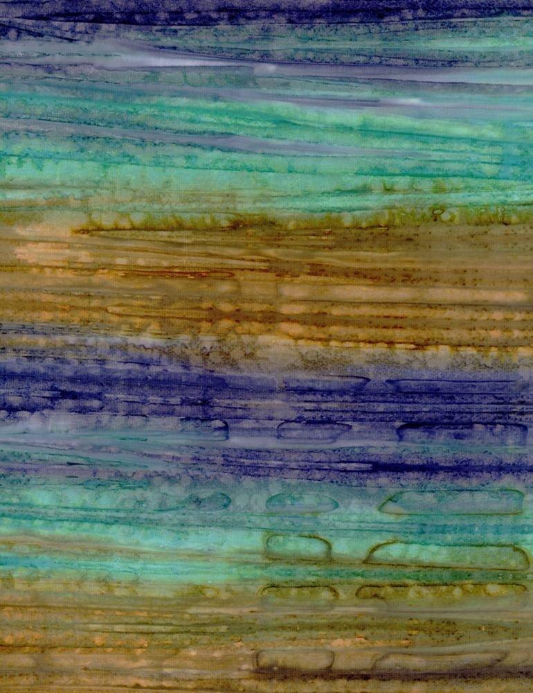 Tonga - Watercolor Streaks - Lake