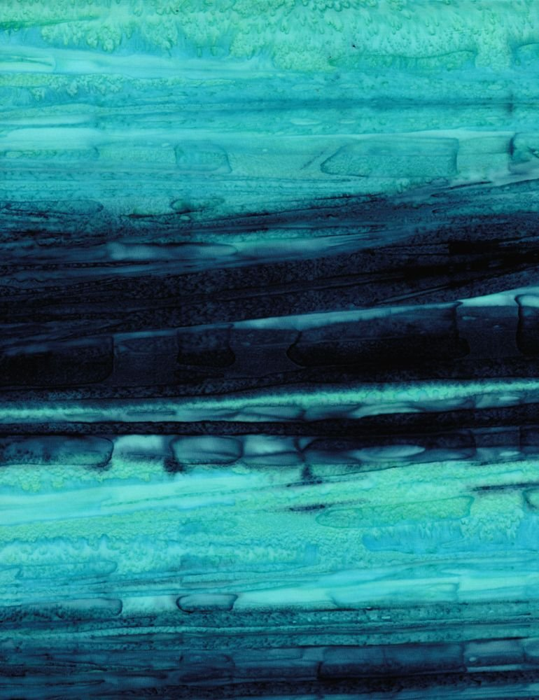 Tonga - Watercolor Streaks - Sea