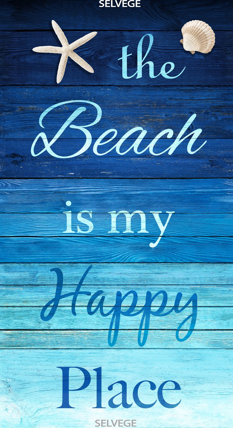 Beach Is My Happy Place Panel
