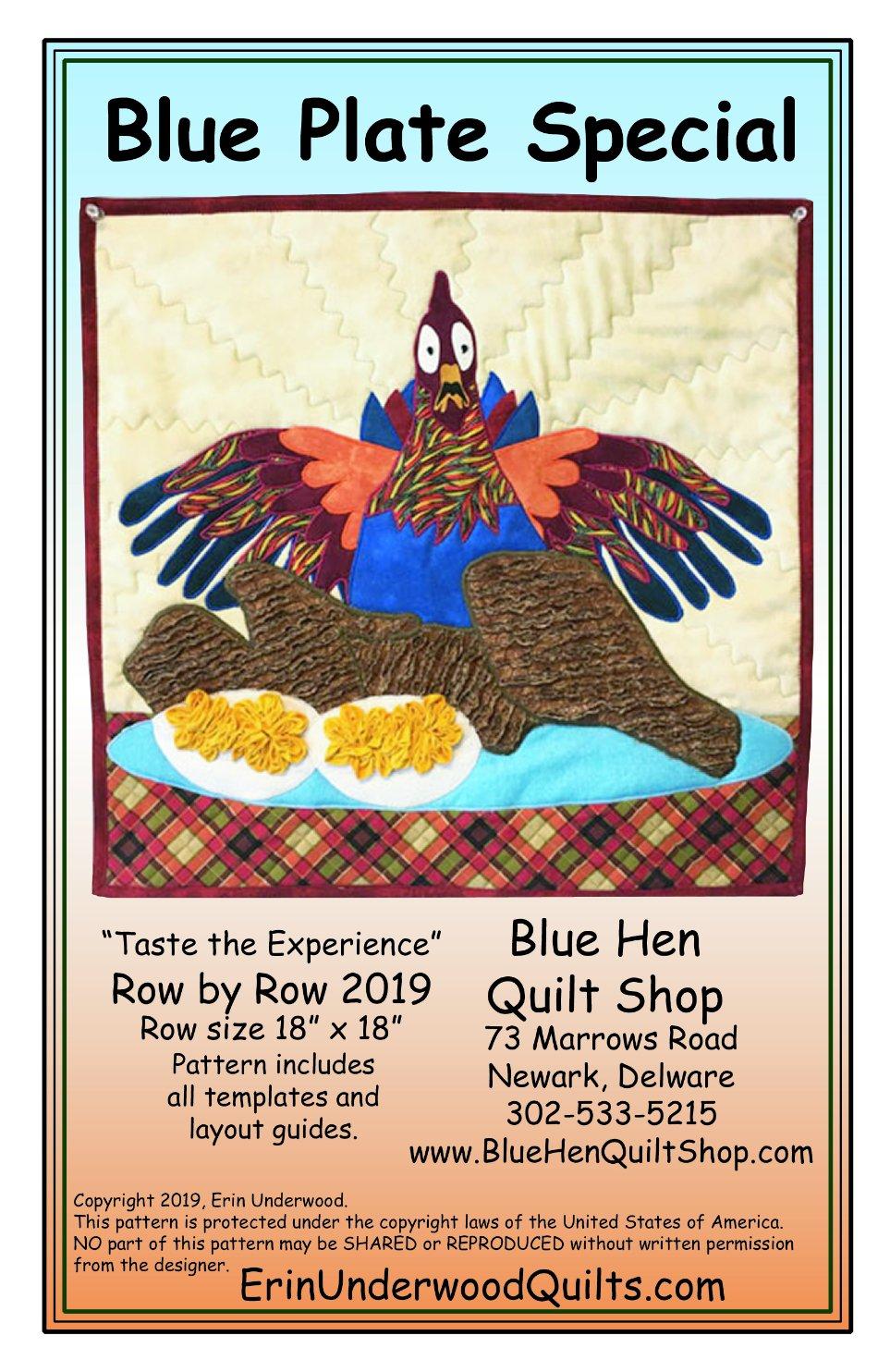Blue Plate Special RXR Pattern