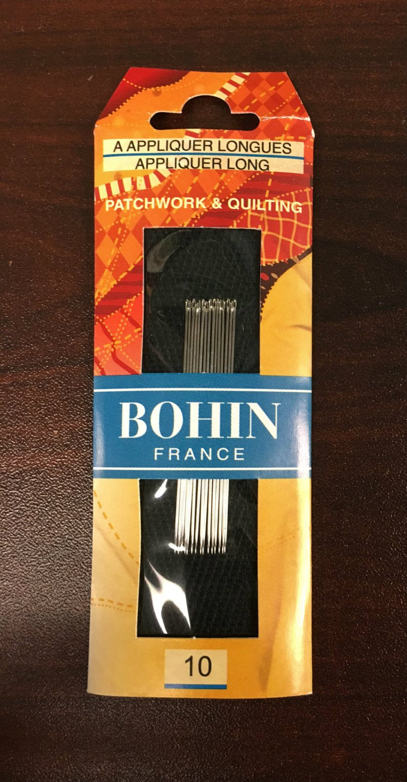 Bohin Applique Long / Beading Needles Size 10