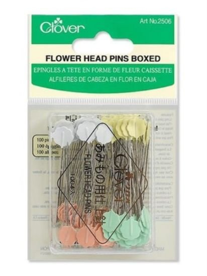 Flower Head Pins 100 ct Boxed