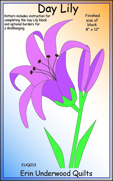 Day Lily pattern