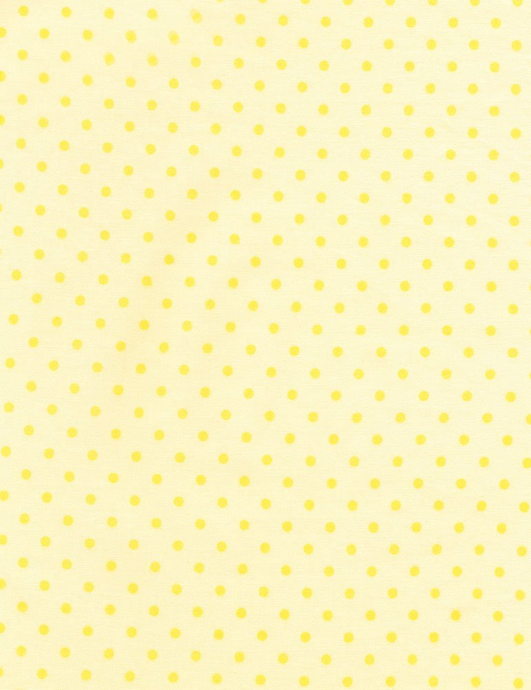 Polka Dot Basic - Banana