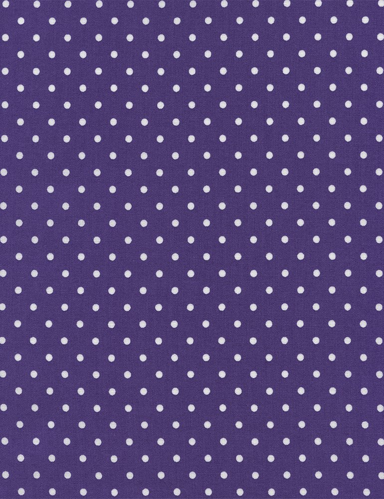 Dot - C1820 Purple/White Dots