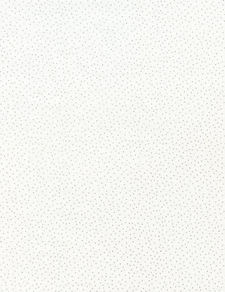 Dot - Metallic Pin Dots - White