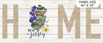 My Home State - New Jersey Panel