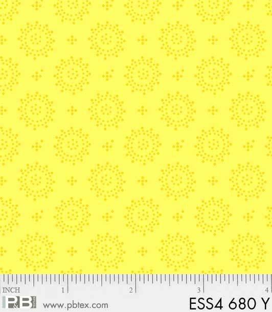 Bear Essentials 4 Dots Geo Yellow
