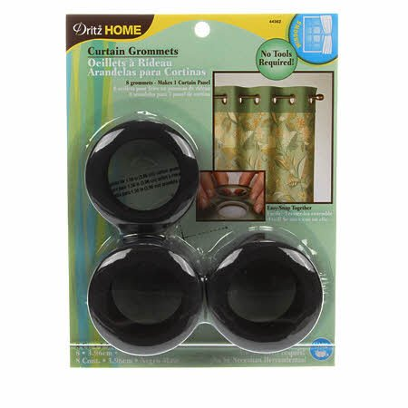 Curtain Grommet Large Bronze 1-9/16in 8ct