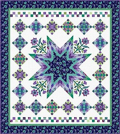 Harmony Quilt Kit designed by Nancy Rink