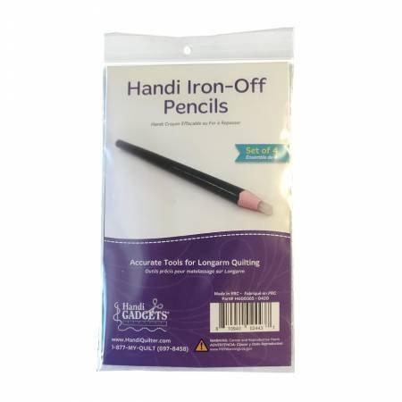 Handi Iron-Off Pencils - Set of 4