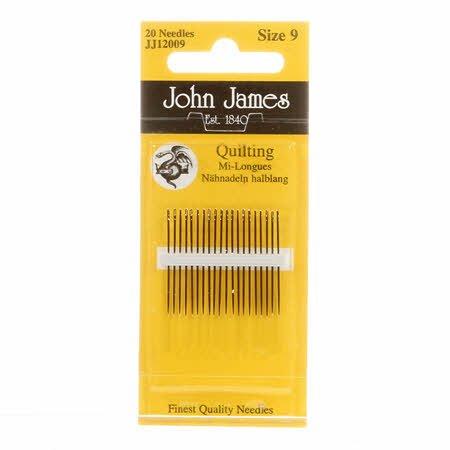 John James Between / Quilting Needles Size 9 20ct