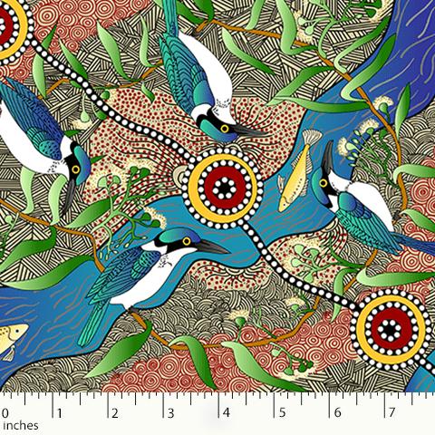 Kingfisher Camp by River Ecru