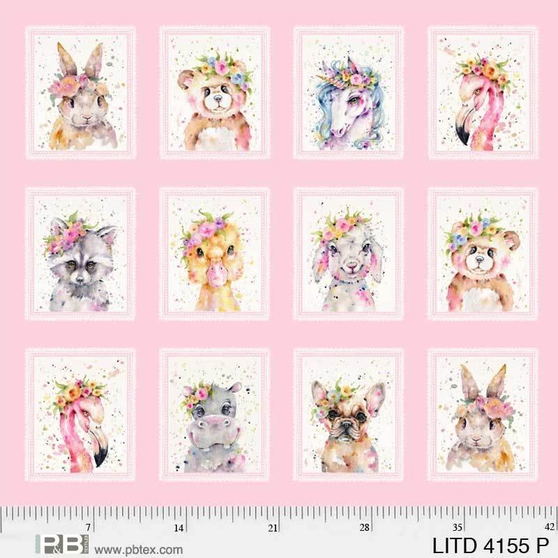 Little Darlings 04155P Panel