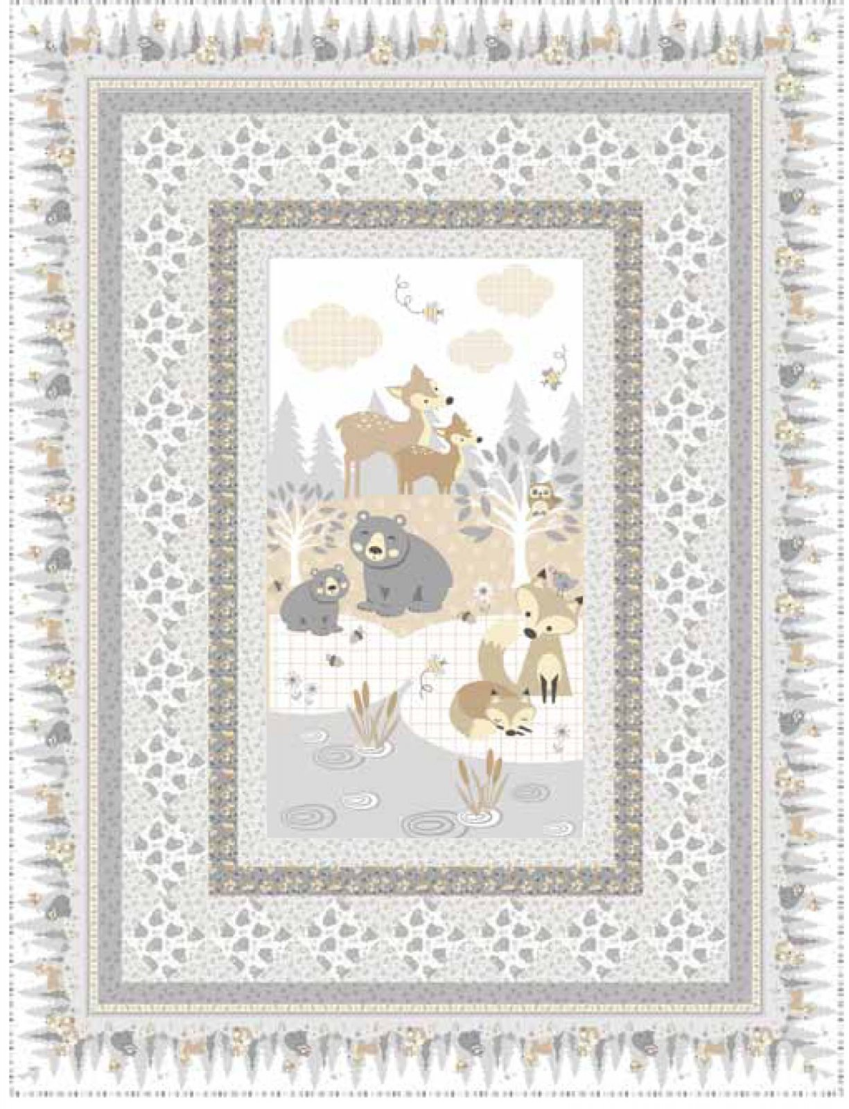 Little Critters Forest Friends Quilt Kit