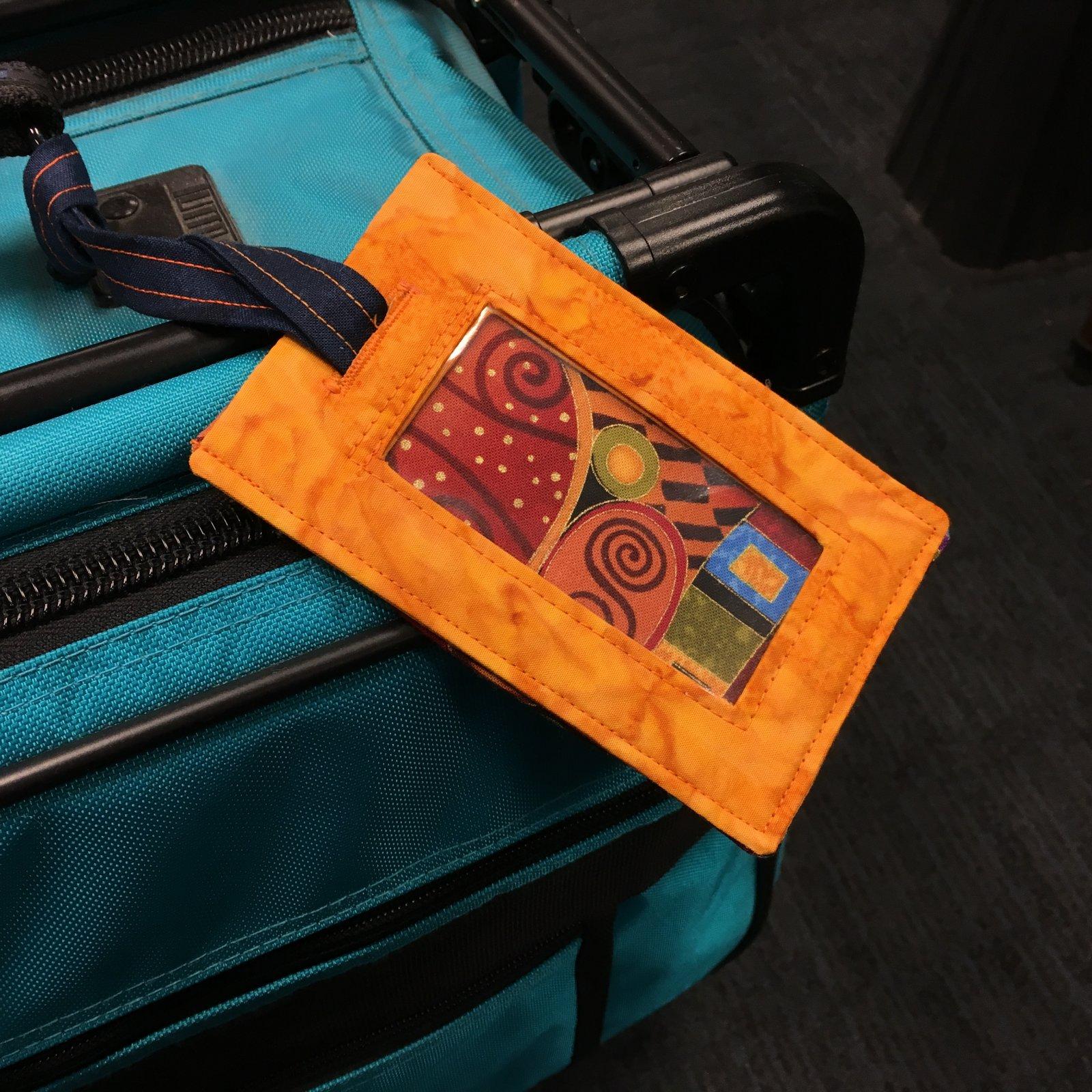 make it take it luggage tag