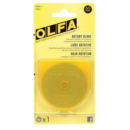 Olfa 60mm Replacement Blade 1pk