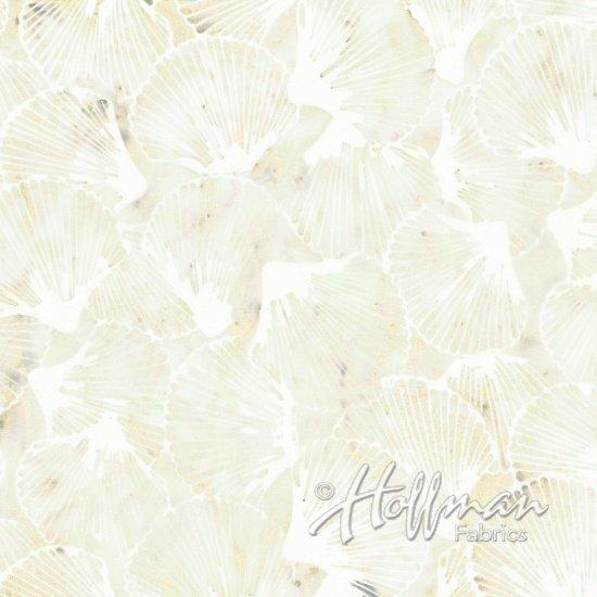Bali Batik - Scallop Shells Papyrus