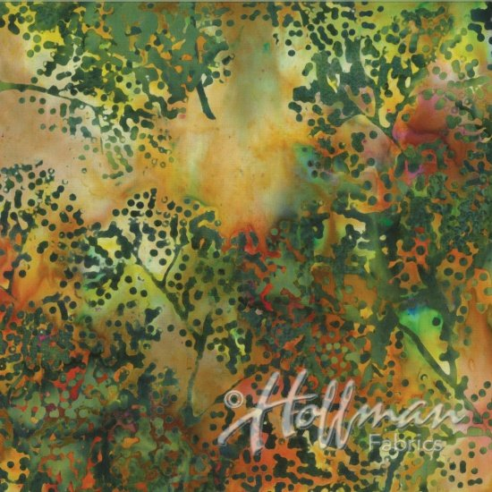Bali Batiks - Dotty Branch - Jungle