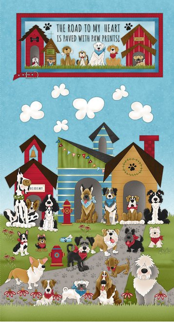 Home Is Where the Dog Is - Banner Panel