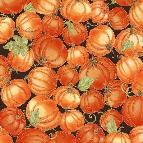 Harvest Bounty Packed Pumpkins - Brn