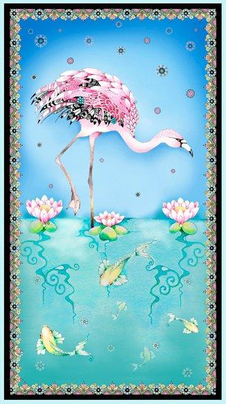 Fancy Flamingos - Flamingo Panel - Multi
