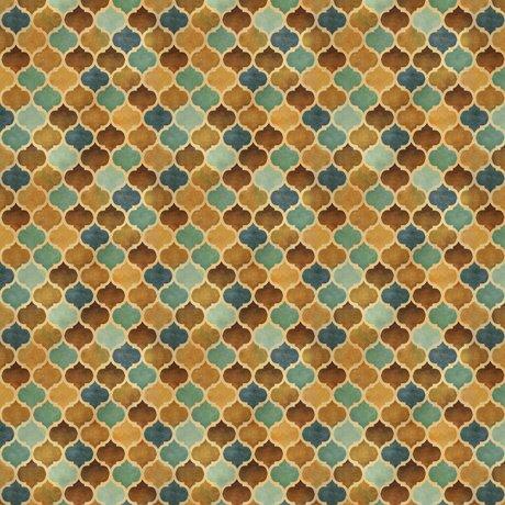 Arabesque Tonal Geometric Tan