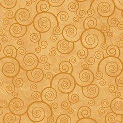 Harmony Curly Scroll - Honey