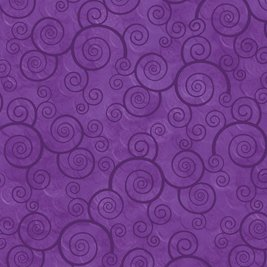 Harmony Curly Scroll - Pansy