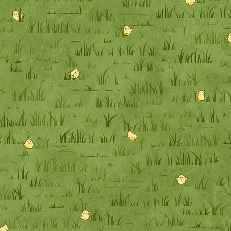 Peeps In Grass - Dk Green