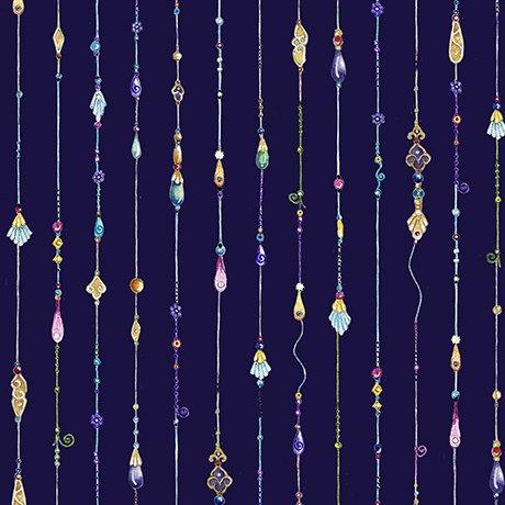 Mariposa - Jeweled Stripe Dk Iris