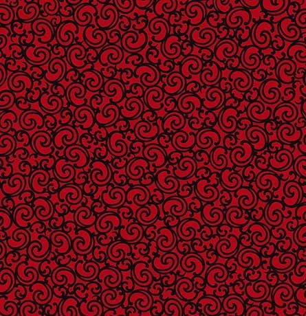 Biker for Life - Scroll Red