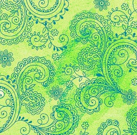 Avalon Decorative Filigree 108 - Lime