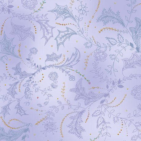 Enchanted Floral - Floral & Vine Toile - Lilac
