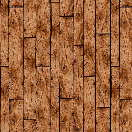 Loyal Loveable Labs - Wood Planks - Brown