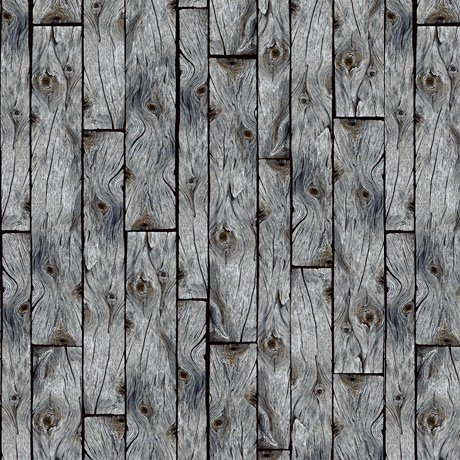 Loyal Loveable Labs - Wood Planks - Gray