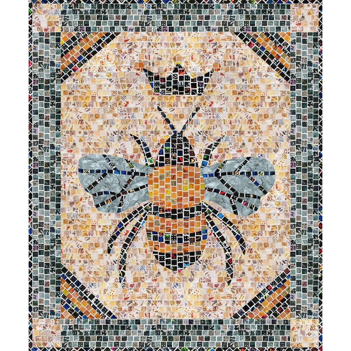 Queen Bee Mosaic Masterpiece kit