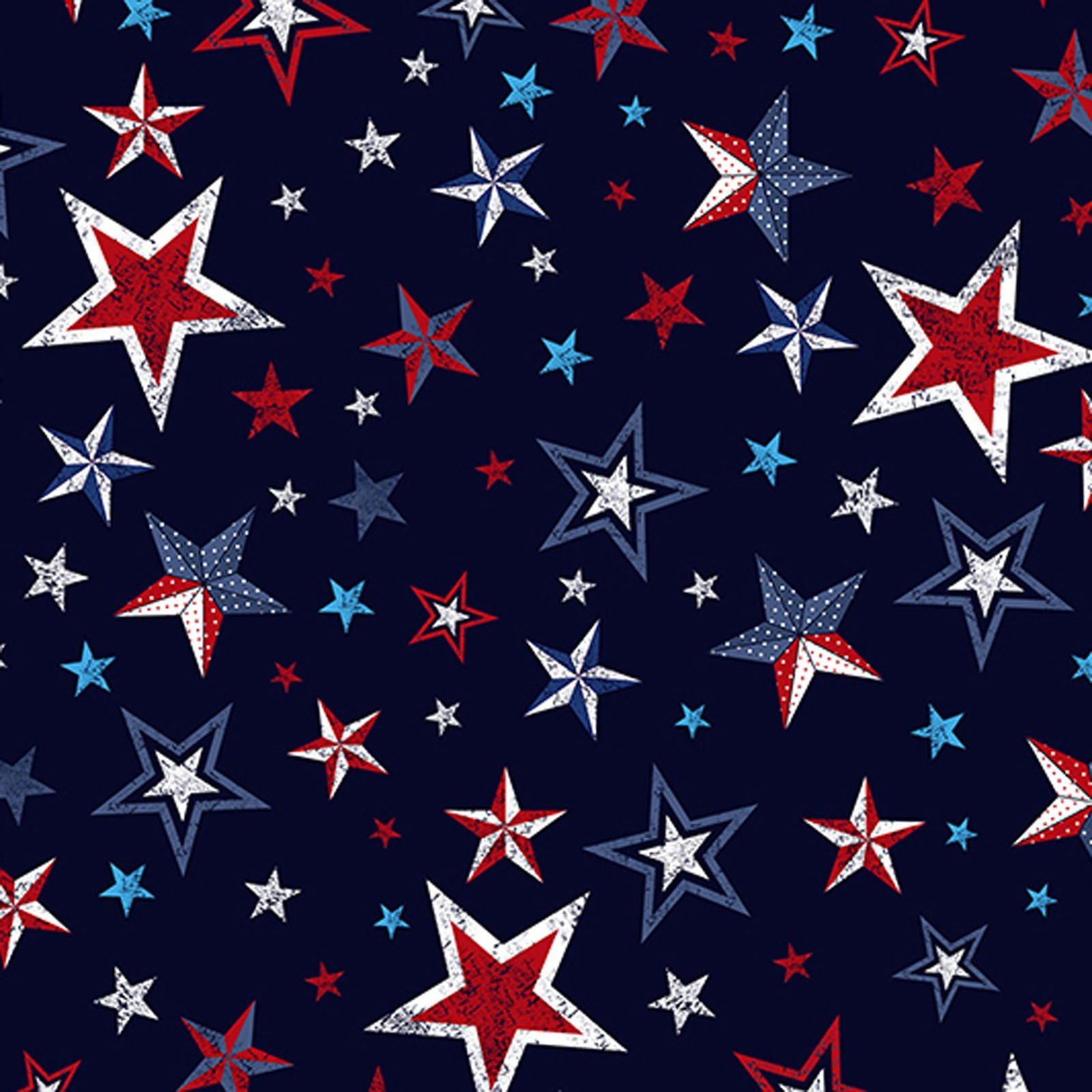 Cuddle SS Liberty Stars - 60 wide
